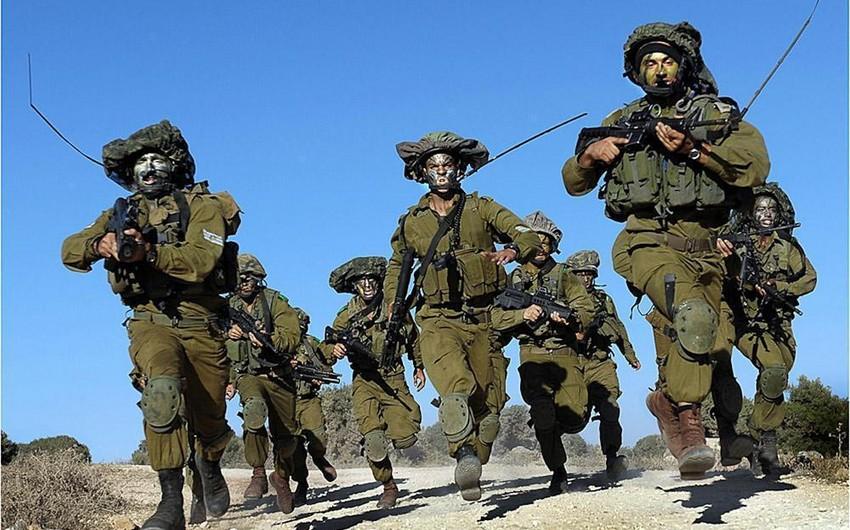 İsrail ordusu yüksək döyüş hazırlığı vəziyyətinə gətirilib