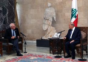 EU's Josep Borrell warns of sanctions over ongoing crisis in Lebanon