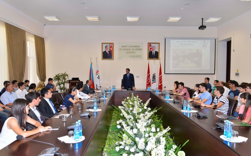 'Doors Open Day' was held in Baku Higher Oil School