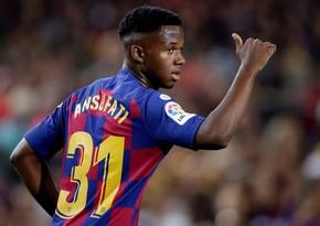 Барселона назначила за 18-летнего форварда 400 млн евро