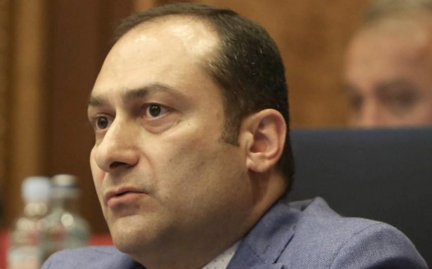 Ermənistanın ədliyyə naziri istefa verib