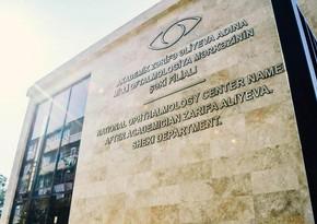 Milli Oftalmologiya Mərkəzi 1,2 mln manatlıq tenderə yekun vurub
