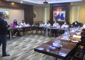 Ministry of Emergency Situations start training with specialists invited from Turkey