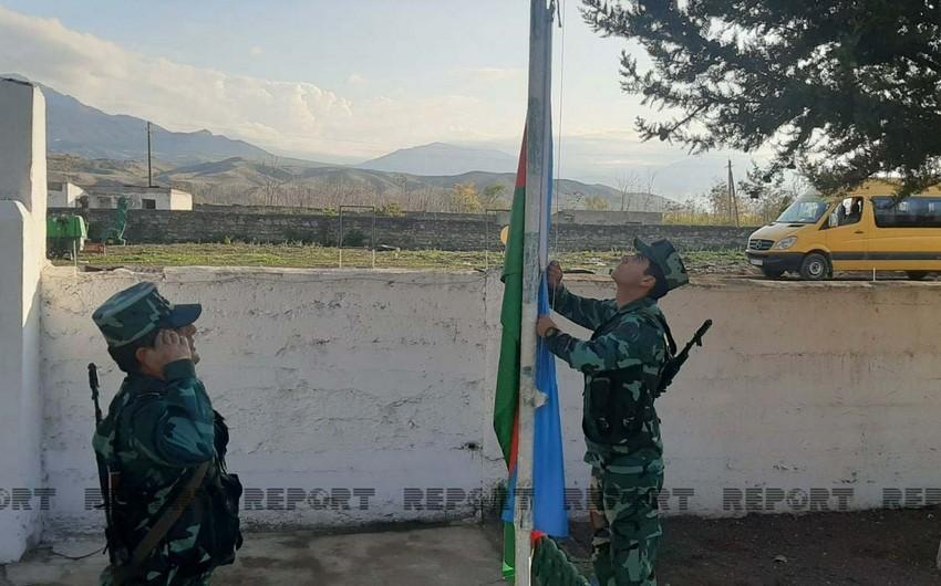 İşğaldan azad olunan Mincivanda sərhəd zastavasının açılışı olub