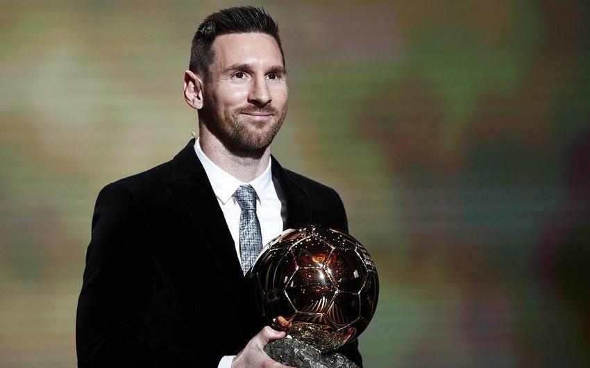 Месси в шестой раз в карьере выиграл Золотой мяч