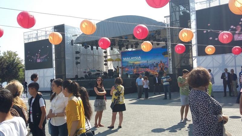 Baku hosts inauguration of  Malaysian Culture Festival