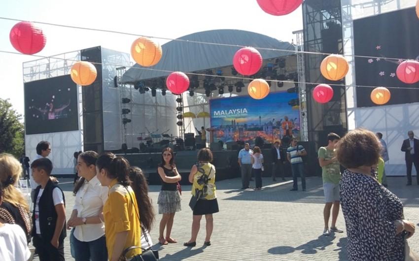Bakıda Malayziya mədəniyyəti festivalının açılışı keçirilib