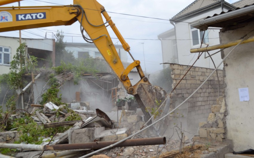 Firstly 1-2-storey buildings will be disassembled in Baku