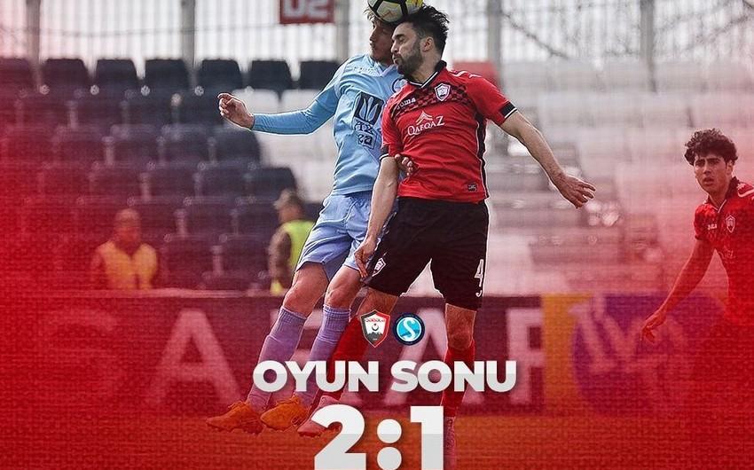 Состоялась еще одна игра XX тура Азербайджанской премьер-лиги