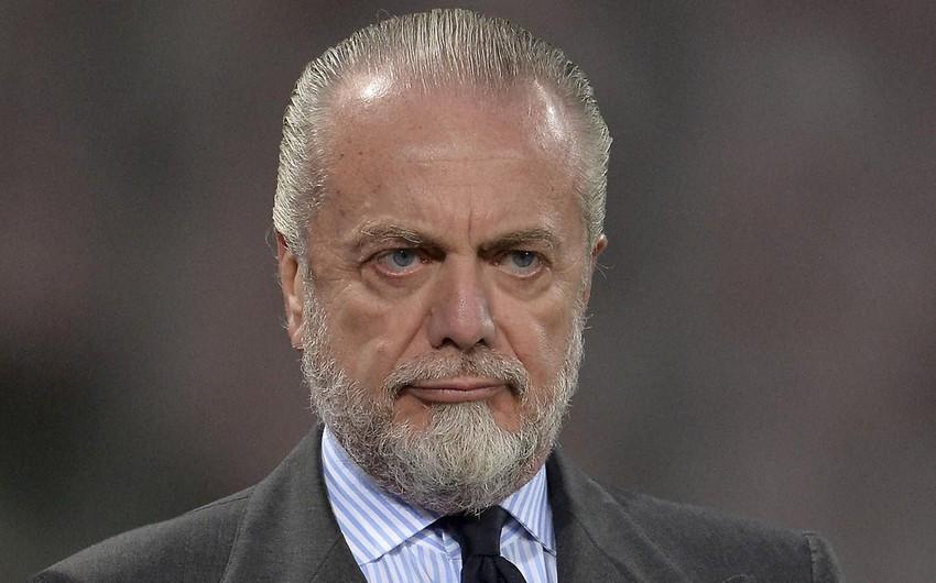 Президент Наполи: Роналду  настоящий тренер Ювентуса