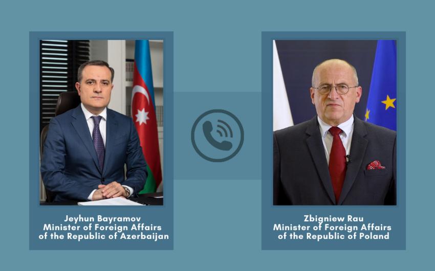 Foreign Ministers of Azerbaijan, Poland hold phone talks