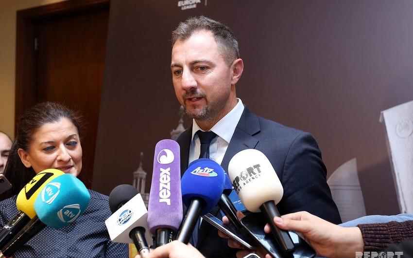 Yeji Dudek: Bakıda Avropa Liqasının finalının təşkili olduqca mühüm hadisədir