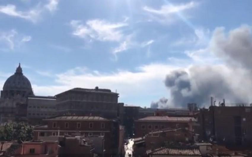 Vatikanda güclü partlayış baş verib - VİDEO