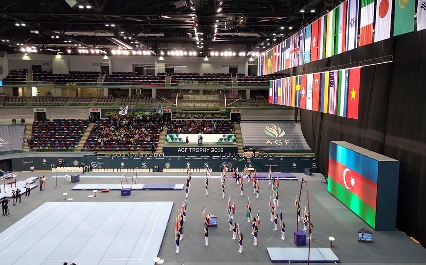 Bakıda idman gimnastikası üzrə Dünya Kubokuna yekun vurulub - YENİLƏNİB