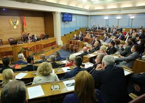 Monteneqro parlamenti yeni hökuməti təsdiqlədi