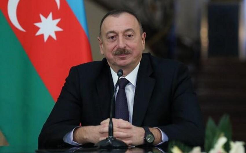 İlham Əliyev Mavritaniya və Albaniya prezidentlərinə təbrik məktubu göndərib