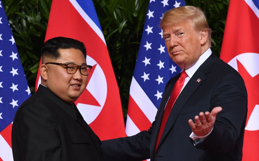 Donald Tramp Şimali Koreya lideri ilə razılığa gələ bilməməsinin səbəbini açıqlayıb
