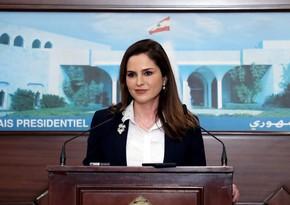 Министр информации Ливана подала в отставку