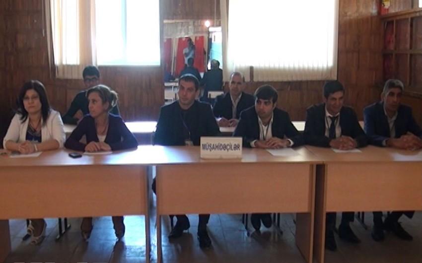 В Гёйчайском и Агдашском районах продолжается голосование