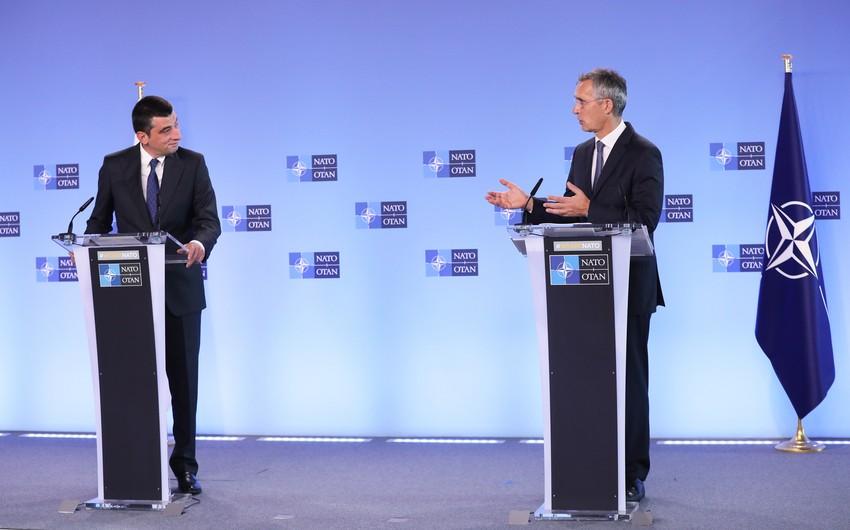 """Baş nazir: """"Gürcüstan-NATO əməkdaşlığı dərinləşdirilməlidir"""""""