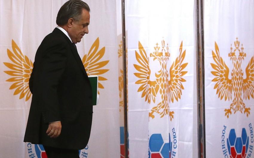 Vitali Mutko yenidən Rusiya Futbol İttifaqına prezident seçilib