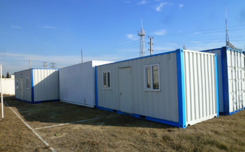 Russia sends 15 mobile containers to Azerbaijani MES