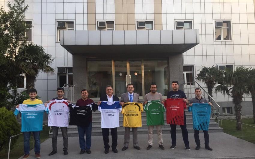Qarabağ Azərbaycandır futbol turnirinin püşkü atıldı