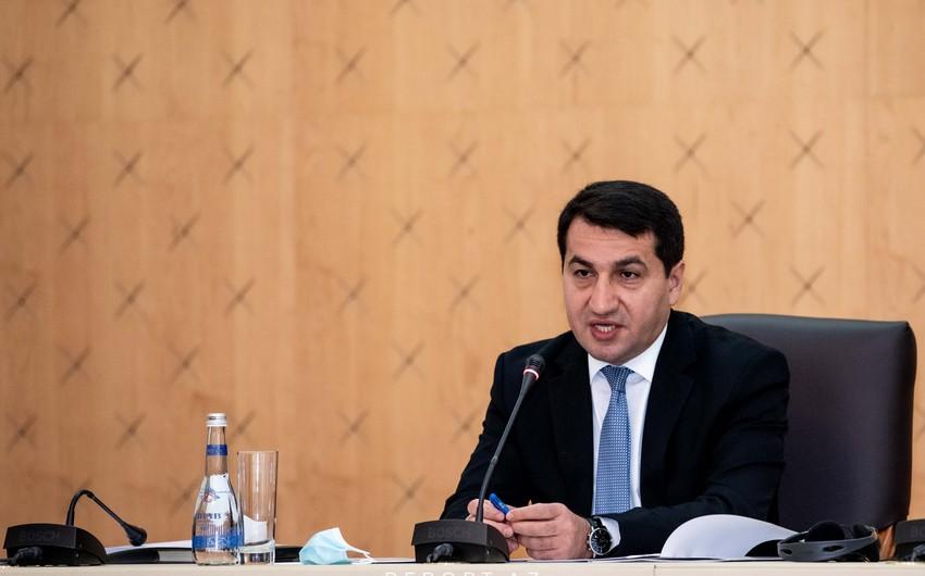 Хикмет Гаджиев уличил Пашиняна во лжи