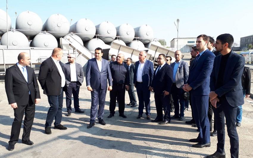 Azərbaycanlı iş adamları Marneulinin investisiya imkanlarını araşdırır