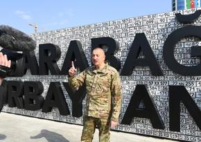 Azərbaycan Prezidenti: Ermənistandan fərqli olaraq 5 milyard dolları heç kim hədiyyə eləməyib