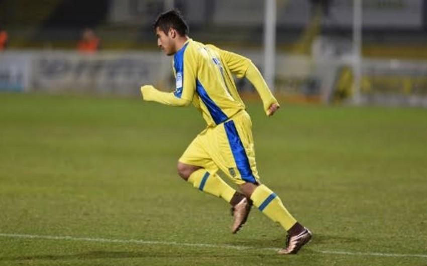Azərbaycanlı futbolçu Sloveniya klubunda ilk rəsmi oyununa çıxıb