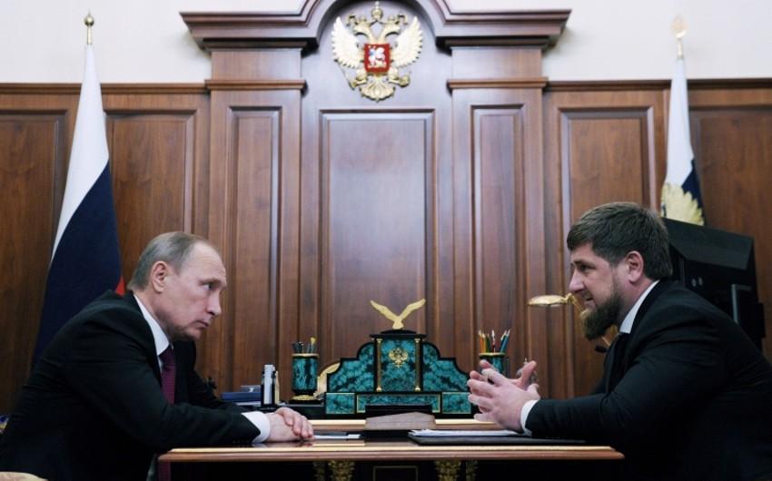 Putin Kadırovu Çeçenistan rəhbərinin səlahiyyətlərini icra edən təyin edib
