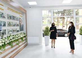 Birinci vitse-prezident Uşaq İncəsənət Məktəbinin yeni binasının açılışında iştirak edib