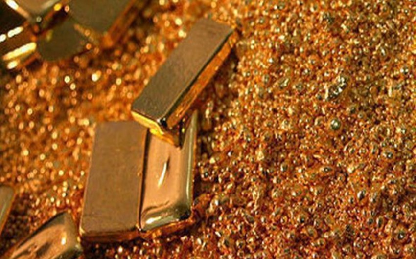 Azərbaycanda qızıl hasilatı 22% azalıb