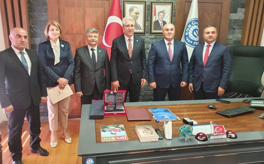 Dövlət Gömrük Komitəsinin sədri Türkiyədə səfərdədir