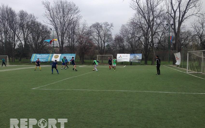 Buxarestdə Novruz bayramı münasibətilə mini futbol turniri keçirilib - FOTO