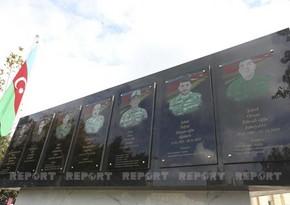 В Баку открыта мемориальная доска в память о шехидах