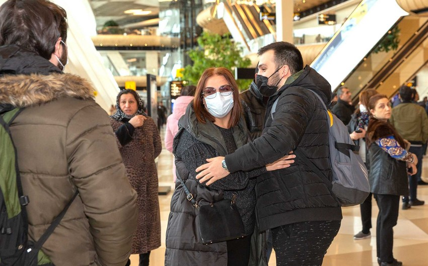 Ankaradan 157 Azərbaycan vətəndaşı Bakıya çatdırılıb