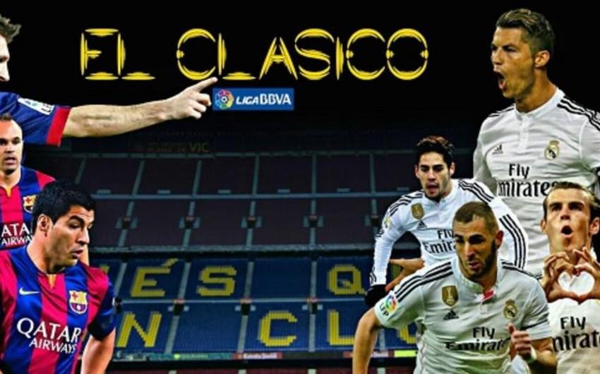 İspaniya çempionatı: Barselona - Real Madrid qarşılaşmasında qalib müəyyənləşməyib - VİDEO