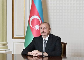 Ilham Aliyev: I am pleased to convey this good news to Azerbaijani people
