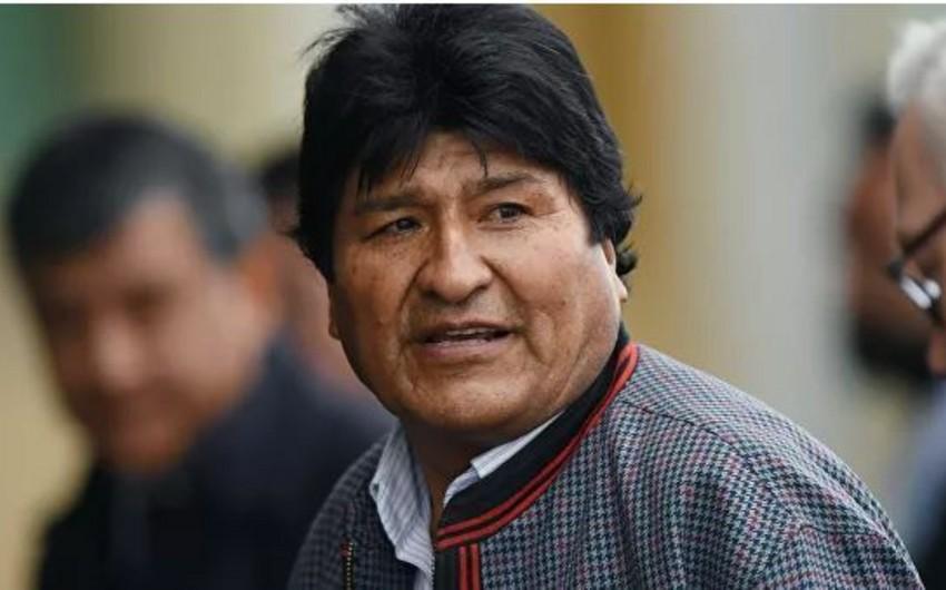 Evo Morales İnterpolun onu axtardığını bildirib