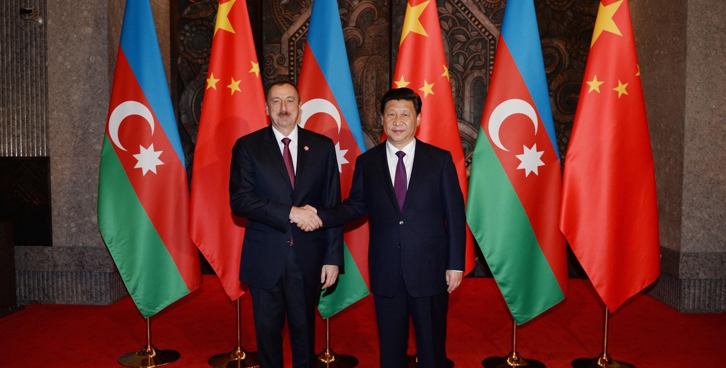 Çin lideri Azərbaycan Prezidentini doğum günü münasibətilə təbrik edib