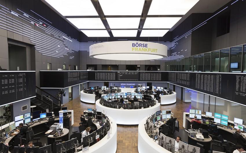 Frankfurt birjasında azalma baş verib