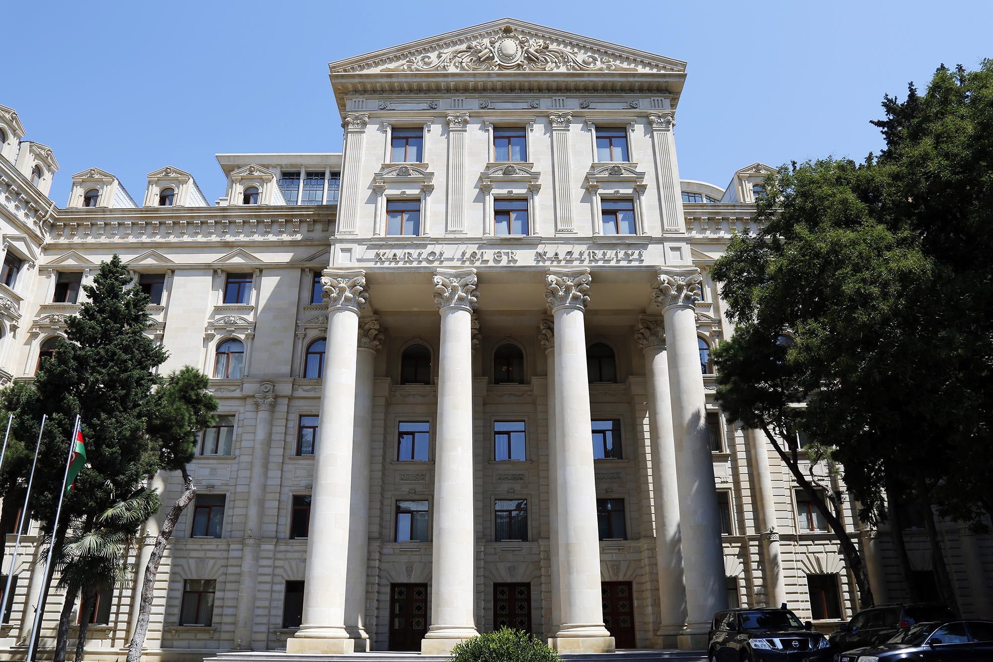 МИД Азербайджана прокомментировало информацию о наличии в дипмиссиях сотрудников МНБ