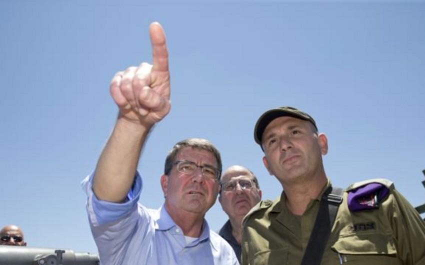ABŞ-ın müdafiə naziri İsraildə səfərdədir