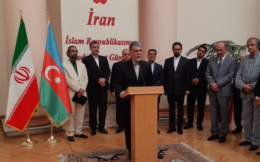İranın mədəniyyət naziri: İran və Azərbaycan ortaq mədəniyyətə və tarixə malikdir