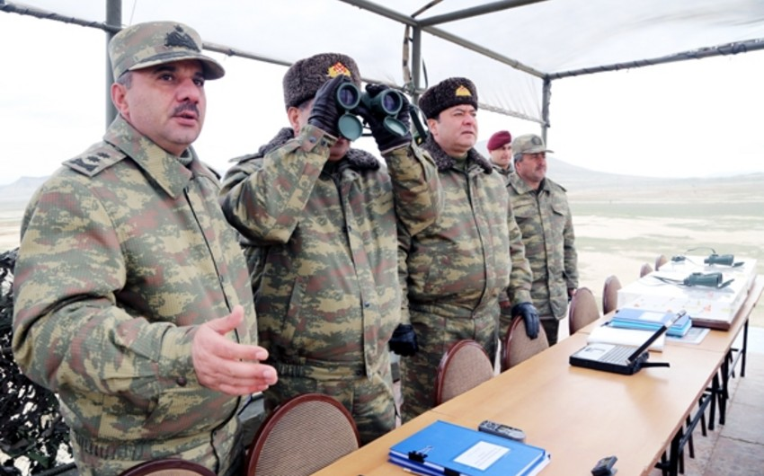 Defense Minister reviewed combat readiness of tank units of Azerbaijani Armed Forces