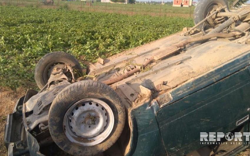 В Джалилабаде перевернулся автомобиль, водитель погиб - ФОТО - ОБНОВЛЕНО