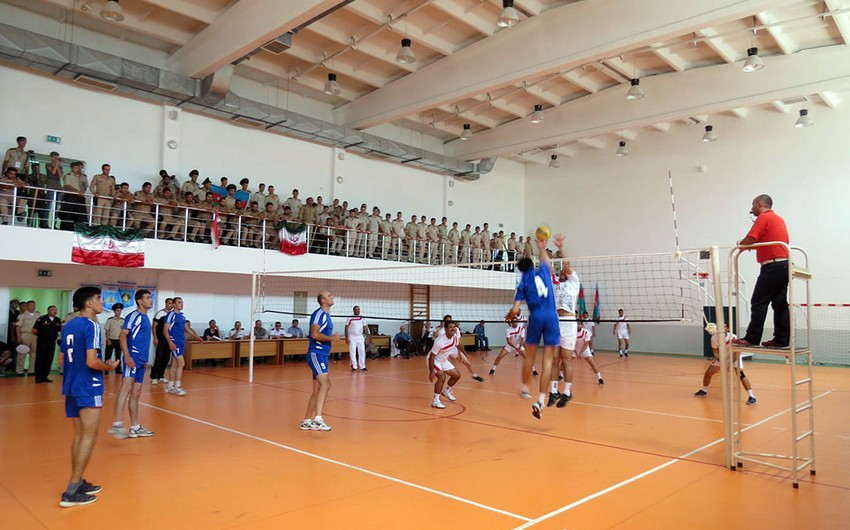 Volleyball competition was held between Sea Cup 2017 contest participants