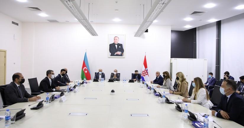 Azərbaycan və Xorvatiya iqtisadi sahədə əməkdaşlığı genişləndirmək istəyir